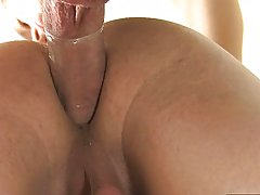 He fucks Rany standing up beloved position) before pounding him on his back until that g