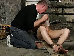 Teenage jock in bondage and cute emo...
