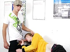 Huge cocks stuff twink asses at Staxus