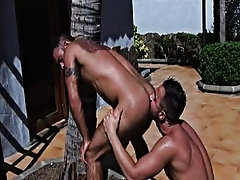 Steve and Martin cruise each other and soon end up fucking each other gay bear naturists at Alpha Male Fuckers