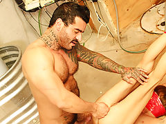 Hardcore gay penetration and big penis gay hunk hardcore at Bang Me Sugar Daddy