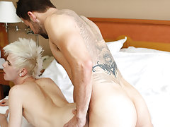 Suck twinks dick while fucking him and straight brothers fucking men at Bang Me Sugar Daddy