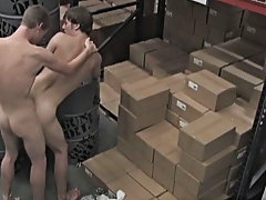 Nevin interrupts Kameron while stocking the shelves and gripes about how industrious his day's been asian gay twinks