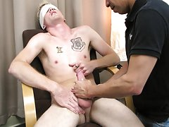 Kissing hot male gay cop sex and...