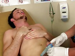 Sexy naked muscle doctor and straight guy...