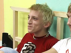 Cute hairless twink blond and cutest...