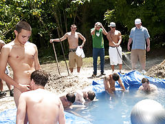 There is nothing like a nice summer time splash, especially when the pool is man made and ghetto rigged as fuck gay truckers seattle yaho