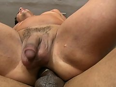 This guy Steven Waye gets his chocolate hole torn apart by Castro's biggest cock
