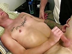 He took that sex toy and stuffed it unfathomable into his a-hole while I jerked on his cock