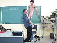 The callow inculcate is obsessed with his student's scarcely twinky body and sweet ass www his first gay sex  com at Teach Twinks