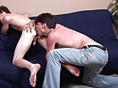 Darren was one hell of a noisy cocksucker but as he played with Bobby's tight balls, it was obvious that Darren was well practiced in the art of