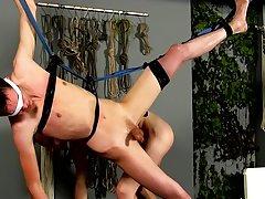 Hardcore male bondage hentai and gay sex...