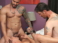 Wade services one as well as the other their cocks, including a bit of a face fuck from Alexsander free gay sex pic hardcor at My Husband Is Gay