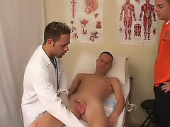 It felt good, but not like what my girlfriend as usual does examination table boy naked