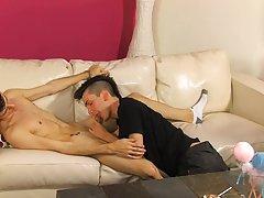Black twinks on undies and gay twink blowjob emo