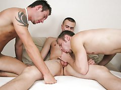 Anal plunge gay and knot sex gay at Straight Rent Boys