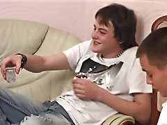 Little horny fucker Artem is back and this time partying with a couple of friends first time gay sex videos