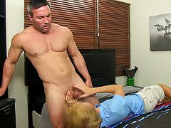 Male nudity in the bathroom and gay blow job while driving at I'm Your Boy Toy