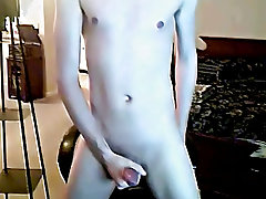 Masturbation in mud and young twink facial...