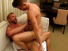 Male anal torture with bottles and male anal sex penetration at I'm Your Boy Toy