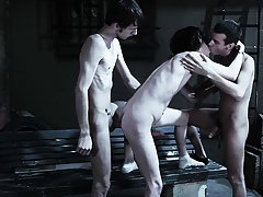 Nude gay male groups and group of guys having sex - Gay Twinks Vampires Saga!