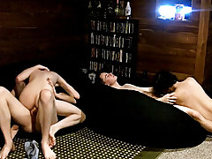 Twinks anal gif and wet asshole twinks - at Boy Feast!