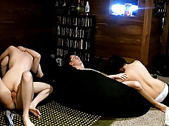Gay boy uncut and pants cum xxx gay - at Boy Feast!