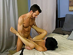 Gay cop anal porno and hands free masturbation for men at Bang Me Sugar Daddy