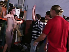 As ordinary they brought their clip camera's along to record the events and tons of pledges to break in male group sex