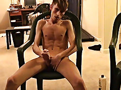 Jared is nervous about his first time wanking on camera