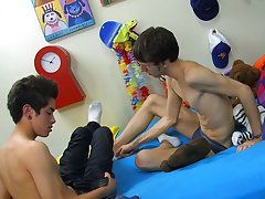 Guys first gay gangbang and straight boys first gay sex videos