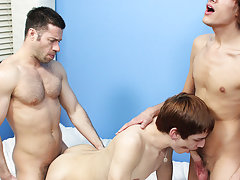 Petticoat boys in panties and young gay in...