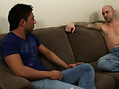 Kevin was no stranger to the pleasure of the cock, but he had never taken a dick as daunting as these two pleasure poles...could he do it male hunks s