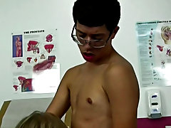 I was breathing heavy as Dr. Phingerfuck walked in and take in the site in front of him gay twinks paid