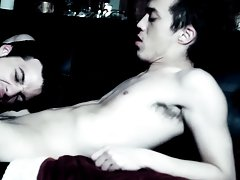 When the vampire lastly sinks his wang into Brice, their fucking is intense and passionate free gay twink sex pictur - Gay Twinks V