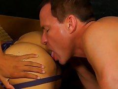 Gay anal finger and deep gay anal fuck at...