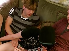 They flip eventually and James bonks Aron's wazoo while he goes down on Kyle gay masturbation twinks - at Boy Feast!