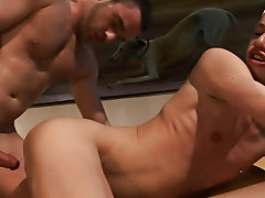 Ben thinks he is coming in for an audition to be on a reality show, but the reality is that two massive gay dicks are gonna be cumming in him yahoo gr