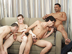 Their uncorrupted experimentation leads to their fullest pleasure as they stick their hard dicks into one anothers' virgin assholes hot gay guy g