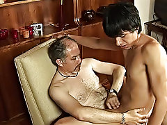 Wasting his precious hardness and seed when he's got his older lover to harvest these twink gems gayboy free