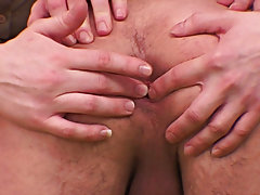 This cute twink has such a delicious perfectly stretchable ass that just begs to be pleased with skillful fingers and hard creamy cocks gay group blow