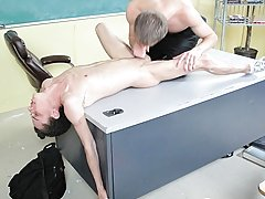 This scene features crazy spirit against the black eat as nicely as on the dominie's desk twink male cum at Teach Twinks