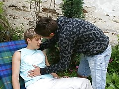 Sucking on Lucas cock gets him instantly hard every time gay fucking outdoors photos