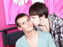 It works and they go home together straight boys first time gay
