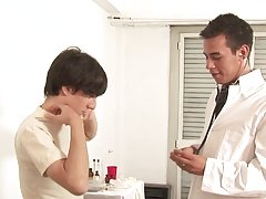 Doctor fuck Julian very well free gay facial movie twin at Julian 18