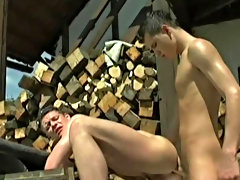 Fischer has some delightful low slung balls that circumscribe about as he pounds Ermann's muscled butt free jock outdoor muscle ga