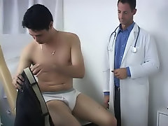 I was a little nervous, but the nurse was very nice to me in the waiting room boys first sex experience