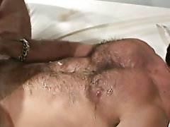 These men kiss and eat tongue with extreme passion and pleasure bears   gay at Alpha Male Fuckers