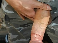 After the hunky 'Major' Eric gets the perfect double sucking, he can't control his own lust military gay oral sex