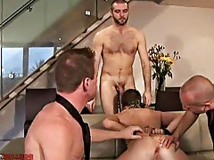 Titanic unprincipled dildo fucking with Ashley bound and blindfolded, his hole getting equably and in truth used free gay fetish